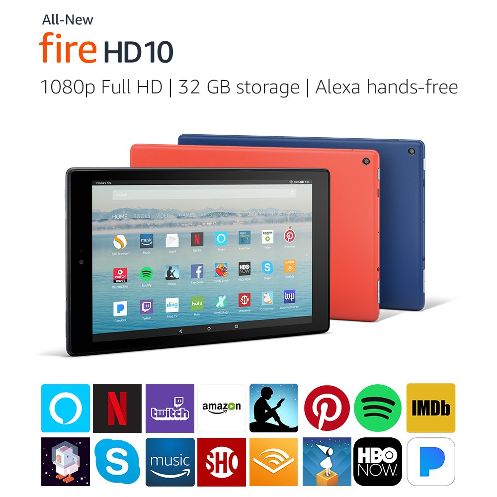 Fire HD 10 Tablet Alexa 32GB