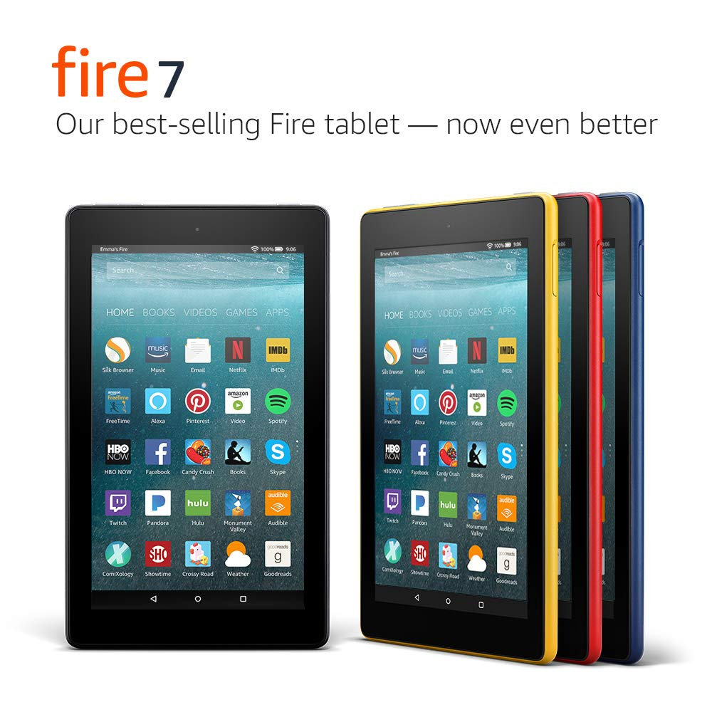Fire 7 Tablet Punch Red