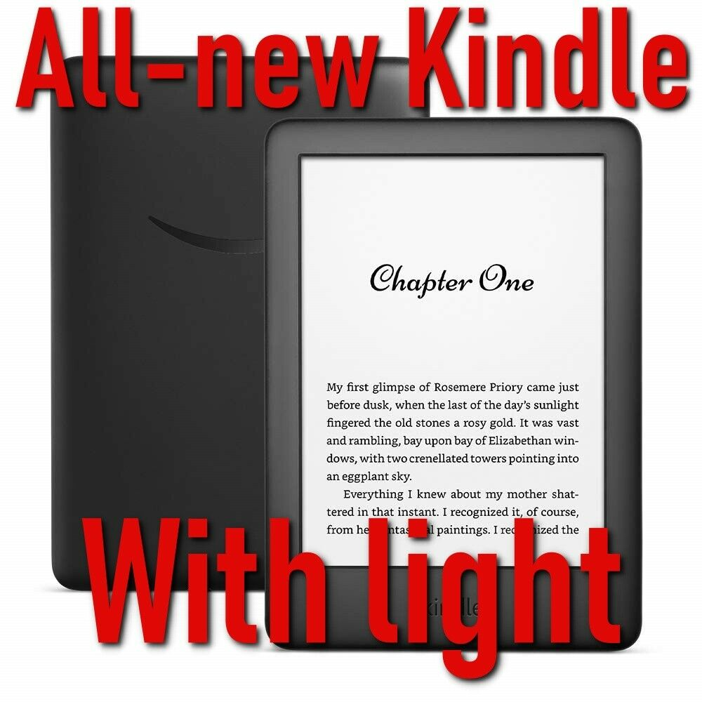 Amazon Kindle (10th Generation-2019) , Black