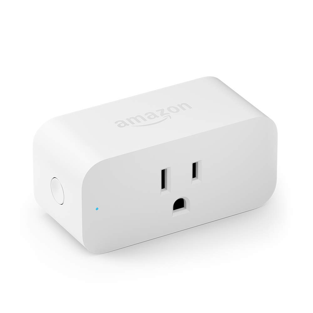 Amazon Smart Plug For Alexa, White