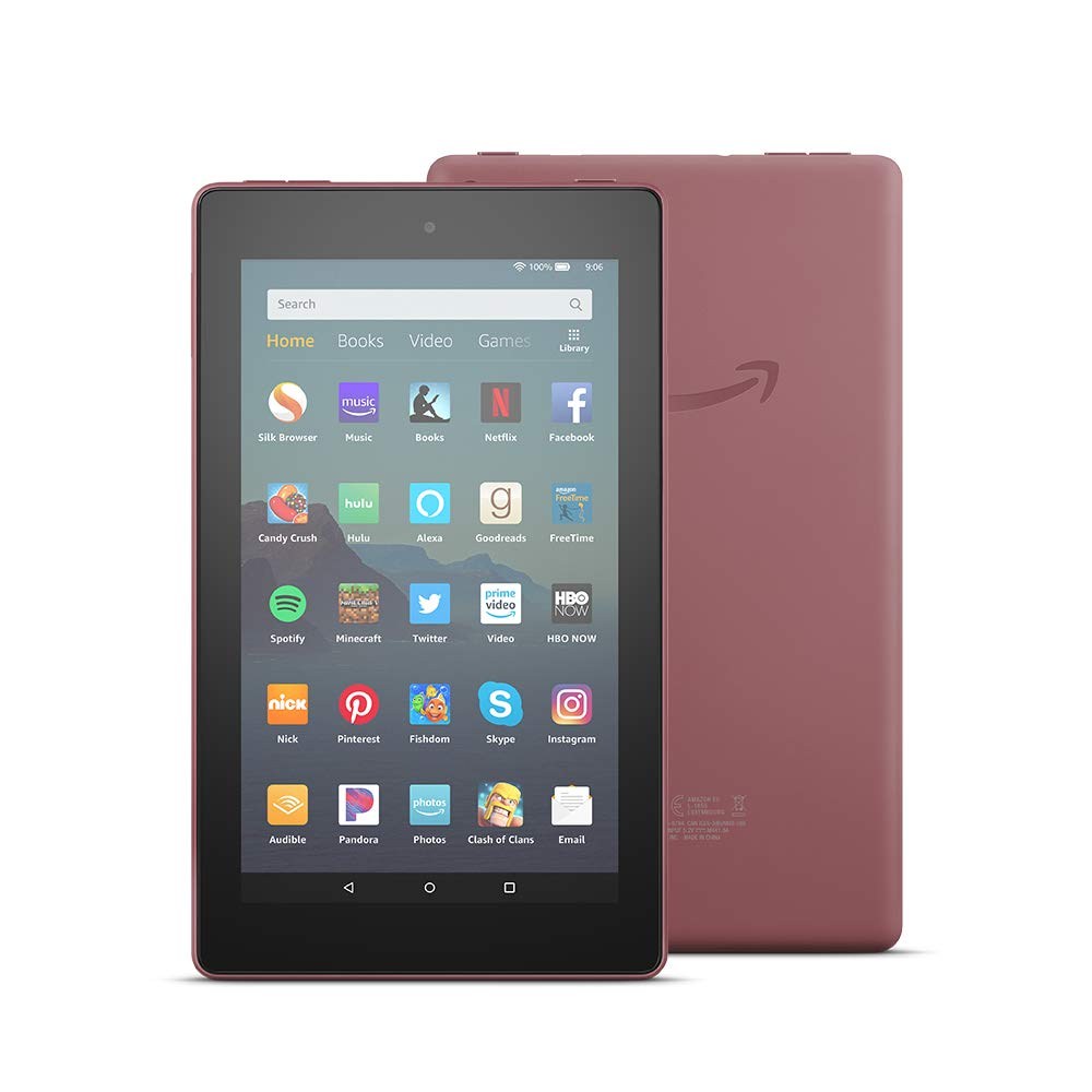 Amazon Fire 7 Tablet 16 GB Plum