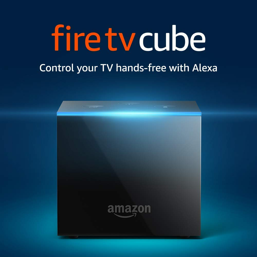 Amazon Fire TV Cube with  Alexa Voice Remote,Black