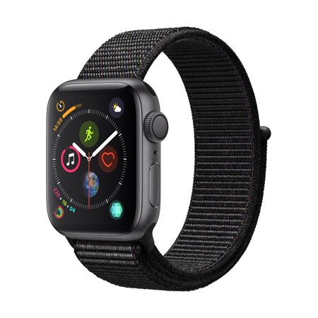 Apple Watch S4 44mm Black Sport Loop MU6E2LL/A
