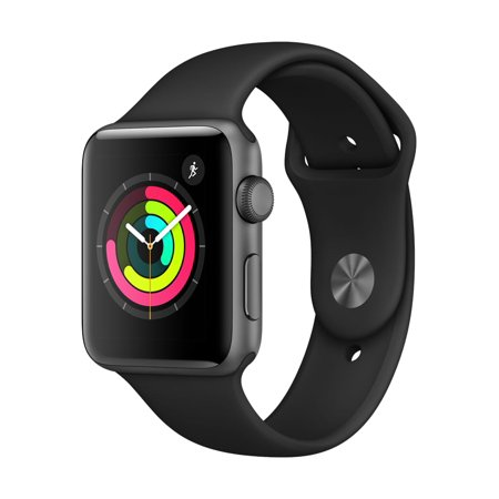 Apple Watch Series 3 42mm Space Gray Aluminum Black