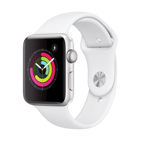 Apple Watch Series 3 42mm Silver Aluminum White